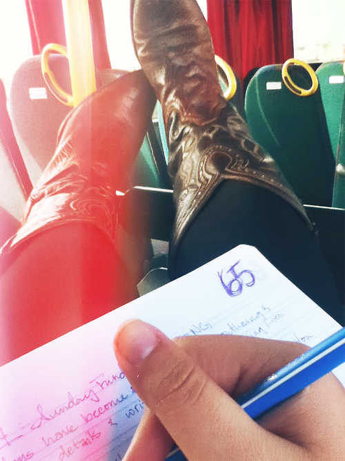 bootswriting