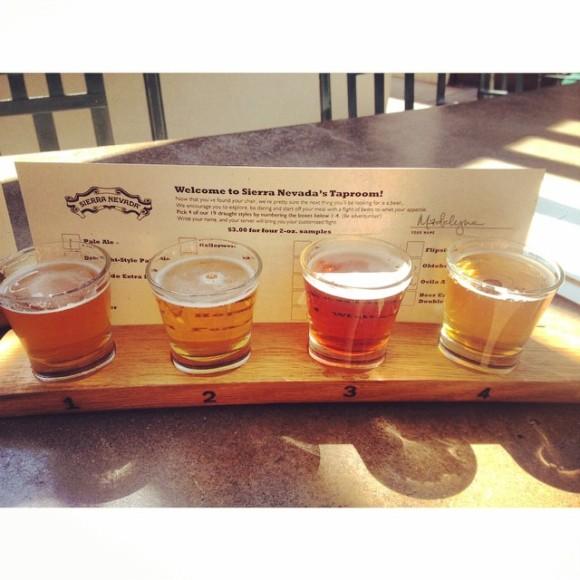 #drinkingourwaytoDenver begins at Sierra Nevada Brewery